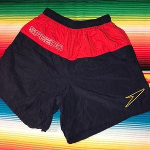 Vintage Speedo Bathing Suit Trunks